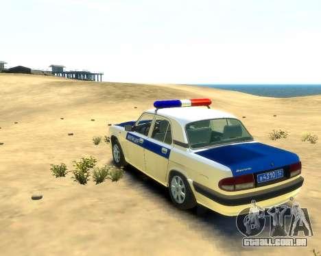 DPS DE GAZ 31105 para GTA 4 esquerda vista