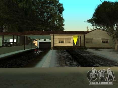 Inverno v1 para GTA San Andreas quinto tela