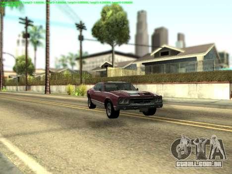ENBSeries by Krivaseef v2.0 para GTA San Andreas segunda tela
