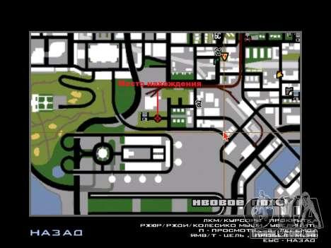 Exchange e César para GTA San Andreas quinto tela