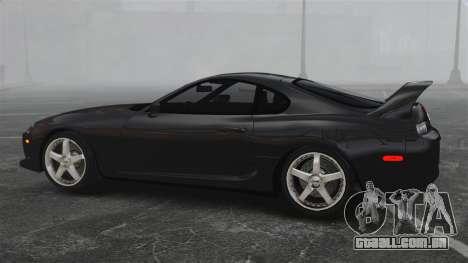 Toyota Supra para GTA 4 esquerda vista