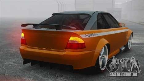 Sultan RS v2.5 para GTA 4 traseira esquerda vista
