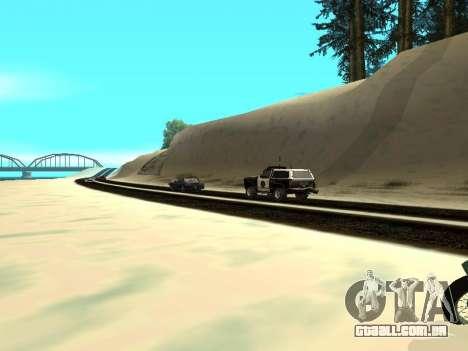 Inverno v1 para GTA San Andreas