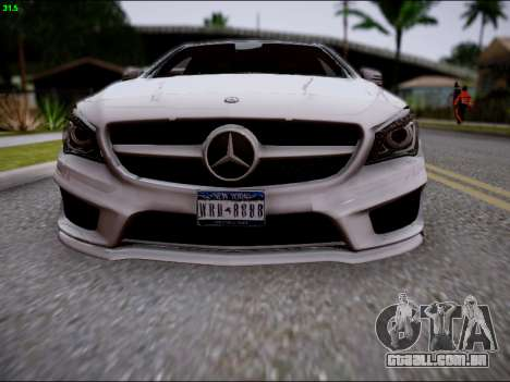 Mercedes-Benz CLA 250 para GTA San Andreas vista superior