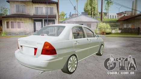 Suzuki Liana 1.3 GLX 2002 para GTA San Andreas vista direita