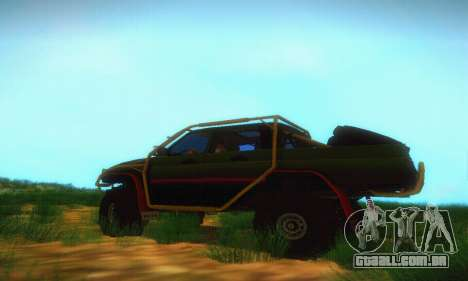 UAZ Patriot Pickup para GTA San Andreas esquerda vista