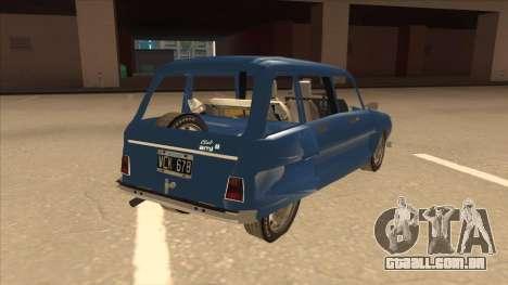 Citroën Ami 8 para GTA San Andreas vista direita