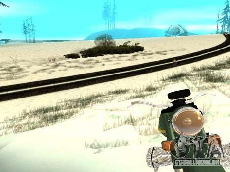 Inverno v1 para GTA San Andreas décimo tela
