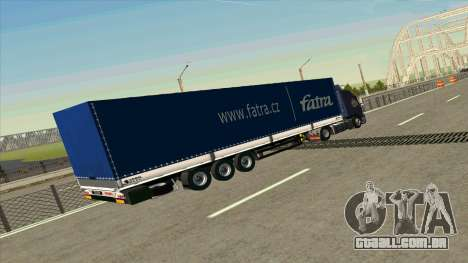 Kogel trailer para Volvo FM16 para GTA San Andreas