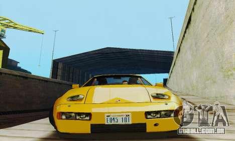 Porsche 928 (1986) v1.1 para GTA San Andreas vista traseira