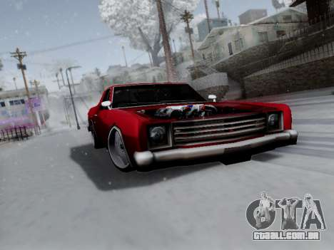 Picador V8 Picadas para GTA San Andreas vista interior
