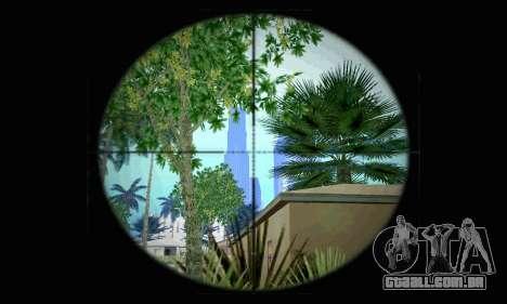 Barrett M82 de Battlefield 4 para GTA San Andreas segunda tela