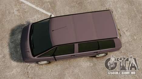Renault Espace I 2000 TSE para GTA 4 vista direita