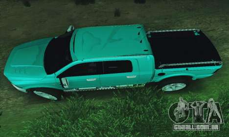 Dodge Ram 2500 HD para GTA San Andreas esquerda vista