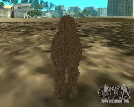 MacMillan para GTA San Andreas segunda tela