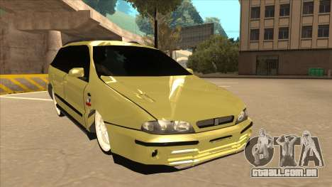 Fiat Marea Weekend para GTA San Andreas esquerda vista