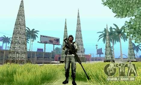 Barrett M82 de Battlefield 4 para GTA San Andreas