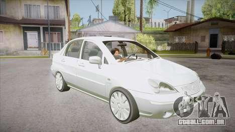 Suzuki Liana 1.3 GLX 2002 para GTA San Andreas vista traseira