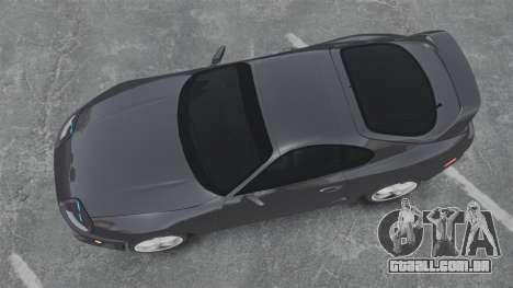 Toyota Supra para GTA 4 vista direita