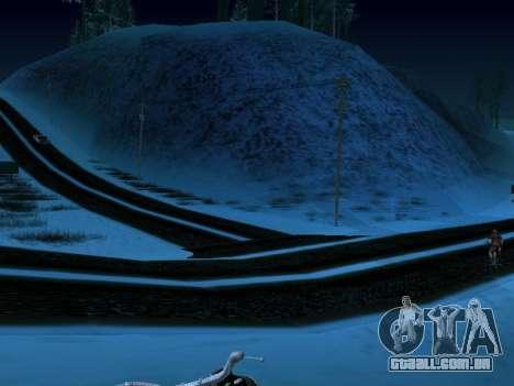 Inverno v1 para GTA San Andreas terceira tela