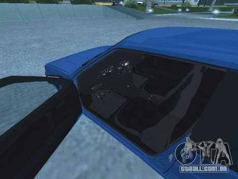 VAZ 2113 para GTA San Andreas vista interior