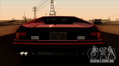 BMW M1 (E26) 1979 para GTA San Andreas vista interior