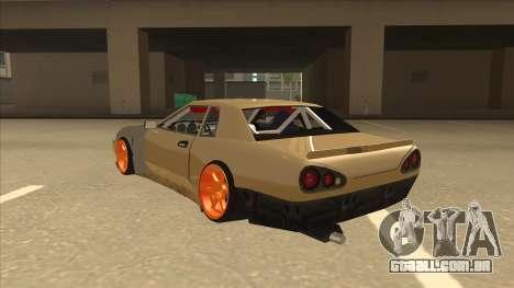 Elegy K22 King Swap para GTA San Andreas vista traseira