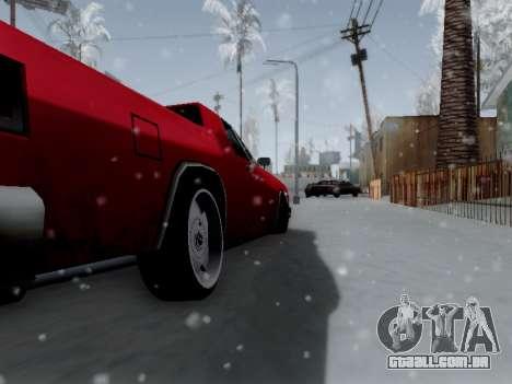 Picador V8 Picadas para GTA San Andreas vista traseira
