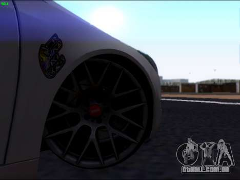 Opel Insignia para GTA San Andreas vista superior