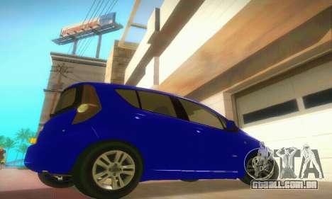 Vauxhall Agila 2011 para GTA San Andreas vista direita