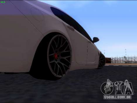 Opel Insignia para GTA San Andreas vista direita