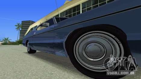 Mercury Monterey 1972 para GTA Vice City vista lateral