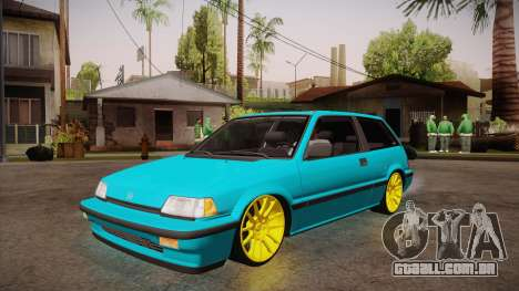 Honda Civic SI Hellaflush para GTA San Andreas