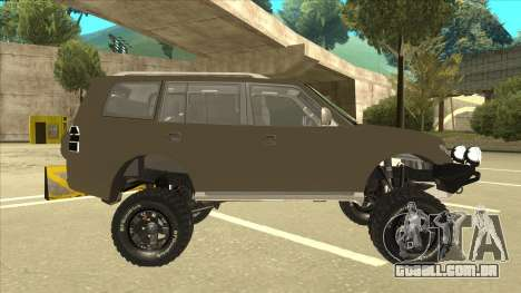 Mitsubishi Montero EDVARD [ERICK] para GTA San Andreas traseira esquerda vista