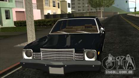 Ford Aspen 1979 para GTA San Andreas esquerda vista