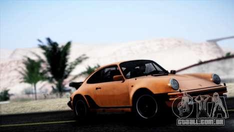 Porsche 911 Turbo 3.3 Coupe 1982 para GTA San Andreas esquerda vista