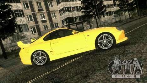 Toyota Supra TRD para GTA Vice City vista traseira
