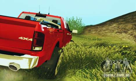 Dodge Ram 2500 HD para GTA San Andreas vista direita