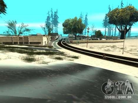 Inverno v1 para GTA San Andreas décima primeira imagem de tela