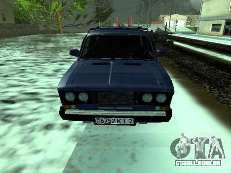 VAZ 2106 para GTA San Andreas esquerda vista