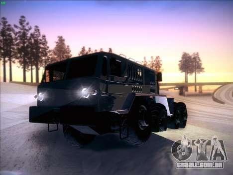 MAZ 537 para GTA San Andreas