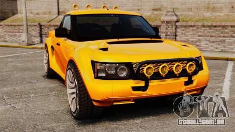 Land Rover Bowler Pick UP para GTA 4