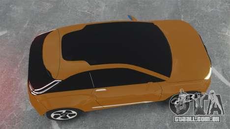 Lada XRay Concept para GTA 4 vista direita