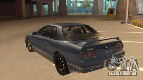 Nissan Skyline GT-S32 Drifter Edition para GTA San Andreas vista traseira