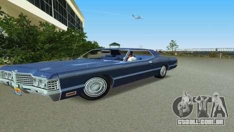 Mercury Monterey 1972 para GTA Vice City deixou vista