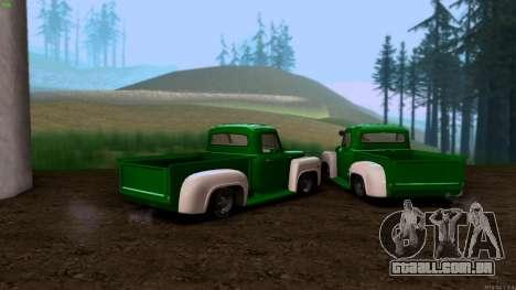 GAZ 53 para GTA San Andreas traseira esquerda vista