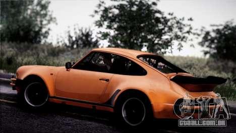 Porsche 911 Turbo 3.3 Coupe 1982 para GTA San Andreas vista superior