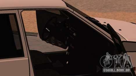 ВАЗ 2114 para GTA San Andreas vista superior