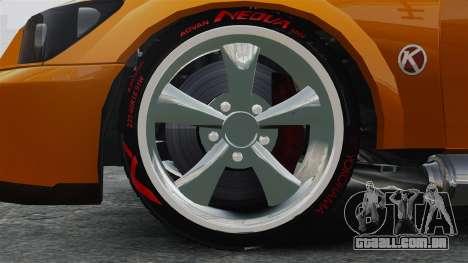 Sultan RS v2.5 para GTA 4 vista de volta