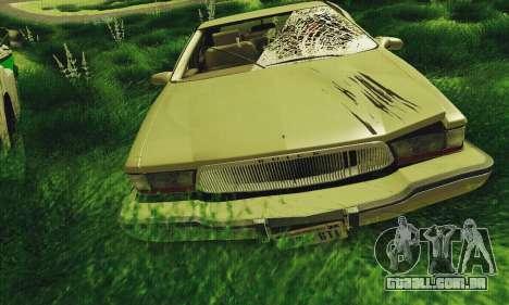 Buick Roadmaster quebrado para GTA San Andreas esquerda vista